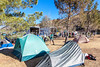 ACA - Cyclists and staff in camp in Bisbee, Arizona - D5-C2-0004 - 72 ppi