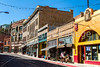 ACA - Cyclists and staff in downtown Bisbee, Arizona - D5-C3-0128 - 72 ppi
