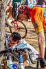 ACA - Cyclists and staff in camp in Bisbee, Arizona - D5-C3- - 72 ppi
