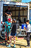 ACA - Cyclists and staff in camp in Bisbee, Arizona - D5-C3-0004 - 72 ppi