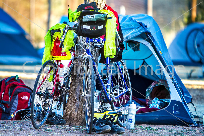 ACA - Cyclists and staff in camp in Bisbee, Arizona - D6-C1-0021 - 72 ppi