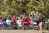 ACA - Cyclists and staff in camp in Bisbee, Arizona - D5-C3-0135 - 72 ppi