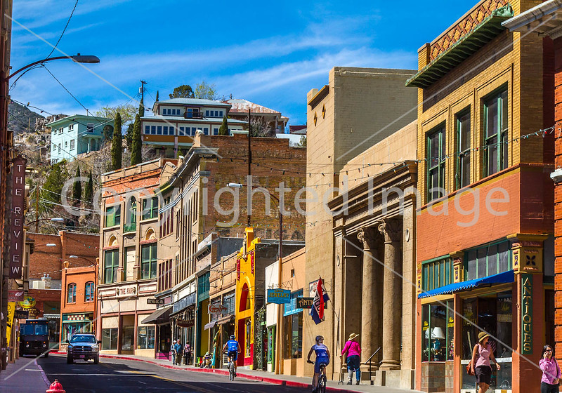 ACA - Cyclists in Bisbee, Arizona - D4-C3-0270 - 72 ppi