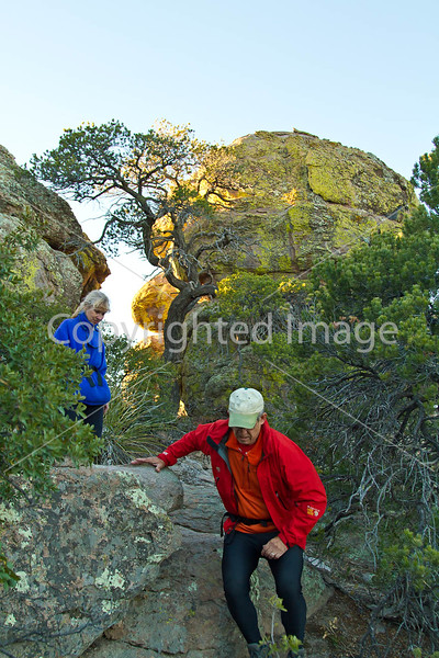Grottoes Trail, Chiricahua Nat'l Mon in Arizona - D5-C3-0133 - 72 ppi