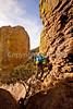 Grottoes Trail, Chiricahua Nat'l Mon in Arizona -  D7-C2  -0195 - 72 ppi