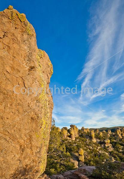 Grottoes Trail, Chiricahua Nat'l Mon in Arizona -  D7-C2#3  -0102 - 72 ppi