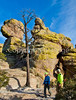 Grottoes Trail, Chiricahua Nat'l Mon in Arizona -  D7-C2#3  -0028 - 72 ppi
