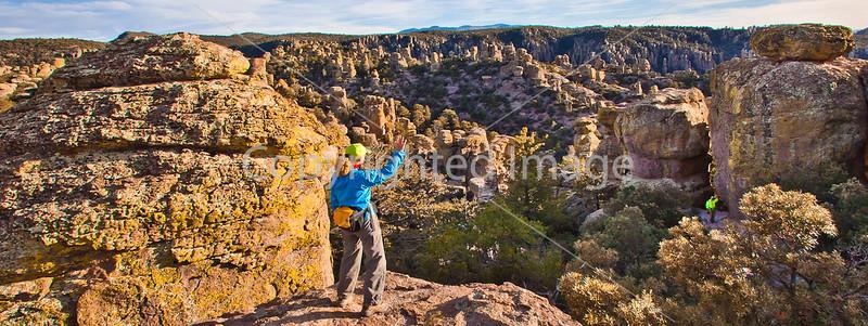 Grottoes Trail, Chiricahua Nat'l Mon in Arizona -  D7-C2#2  -0111 - 72 ppi-3