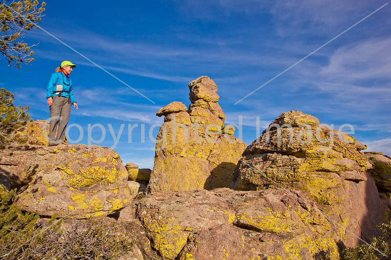 Grottoes Trail, Chiricahua Nat'l Mon in Arizona -  D7-C2#2  -0068 - 72 ppi
