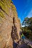 Grottoes Trail, Chiricahua Nat'l Mon in Arizona -  D7-C2#3  -0012 - 72 ppi
