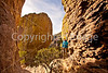 Grottoes Trail, Chiricahua Nat'l Mon in Arizona -  D7-C2  -0200 - 72 ppi