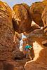 Grottoes Trail, Chiricahua Nat'l Mon in Arizona -  D7-C2#2  -0014 - 72 ppi