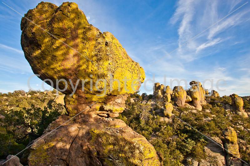 Grottoes Trail, Chiricahua Nat'l Mon in Arizona -  D7-C2#3  -0109 - 72 ppi