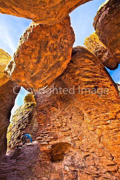 Grottoes Trail, Chiricahua Nat'l Mon in Arizona -  D7-C2  -2 - 72 ppi