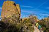 Grottoes Trail, Chiricahua Nat'l Mon in Arizona -  D7-C2#3  -0070 - 72 ppi-2