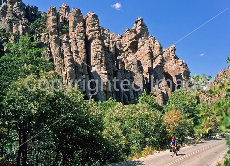 Chiricahua Nat'l Monument, AZ - touring cyclist - 3 - 72 ppi