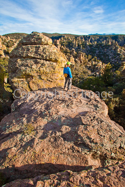 Grottoes Trail, Chiricahua Nat'l Mon in Arizona -  D7-C2#2  -0109 - 72 ppi