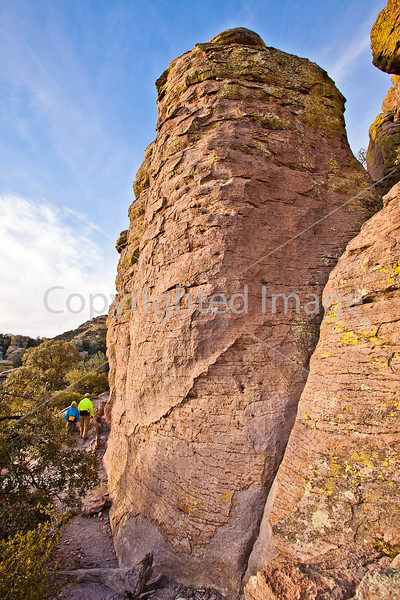 Grottoes Trail, Chiricahua Nat'l Mon in Arizona -  D7-C2#2  -0218 - 72 ppi