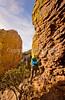 Grottoes Trail, Chiricahua Nat'l Mon in Arizona -  D7-C2  -0209 - 72 ppi