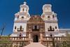 The Mission San Xavier del Bac is a historic Spanish Catholic mission near Tucson, Arizona, USA.