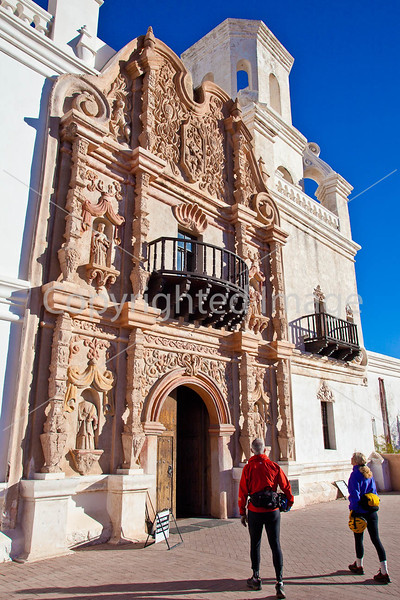 Mission San Xavier del Bac near Tucson, AZ  D3-C2 -0009 - 72 ppi