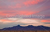Sunset over Dragoon Mts  in southeast Arizona -  D7-C3 - - 72 ppi