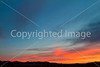 Sunset over Dragoon Mts  in southeast Arizona -  D7-C3 -0252 - 72 ppi