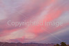 Sunset over mountains, north side of Tucson, AZ - D2-C3 -0231 - 72 ppi