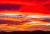 Sunset over Dragoon Mts  in southeast Arizona -  D7-C3 -0271 - 72 ppi