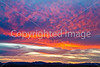 Sunset over Dragoon Mts  in southeast Arizona -  D7-C3 -0240 - 72 ppi