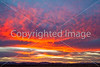 Sunset over Dragoon Mts  in southeast Arizona -  D7-C3 -0250 - 72 ppi