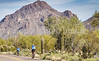 Sojourn cyclists in Tucson Mountain Park - D3 - C1-0278 - 72 ppi