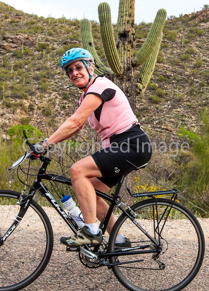 Sojourn cyclists in Tucson's Sabino Canyon -  D2-C2-0077 - 72 ppi-3