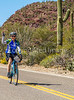 Sojourn cyclists in Tucson Mountain Park - D3 - C3-0350 - 72 ppi