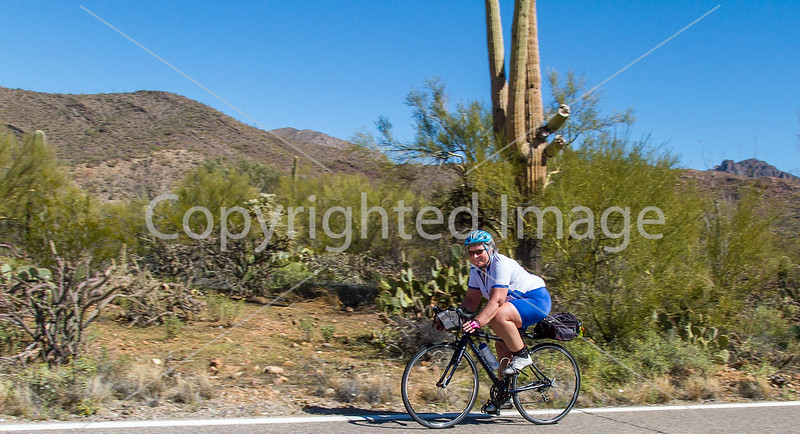 Sojourn cyclists in Tucson Mountain Park - D3 - C3-0194 - 72 ppi