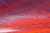 Sunset over mountains, north side of Tucson, AZ - D2-C3 -0237 - 72 ppi