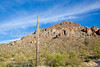 Cyclist at Grant Pass, west of Tucson, AZ - D2-C2-0054 - 72 ppi