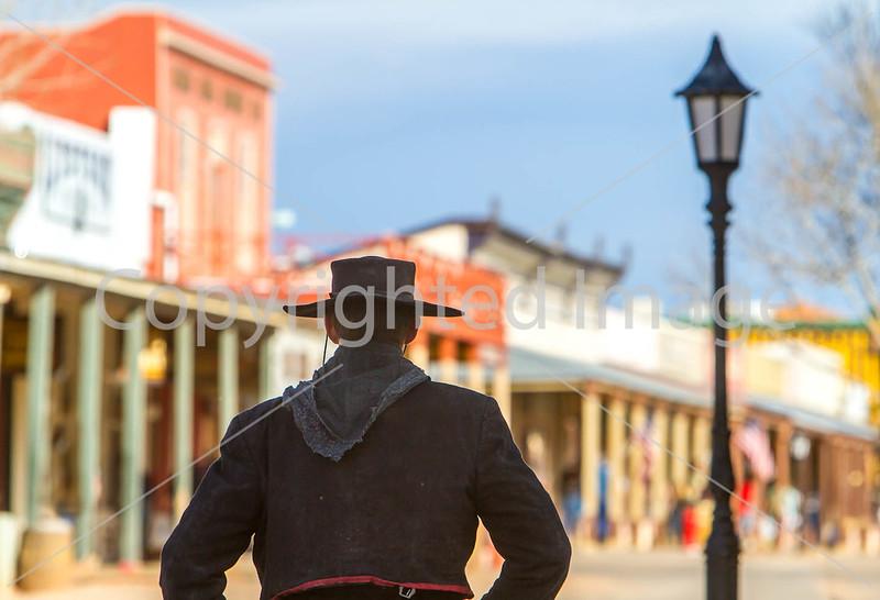 Gunfighters in Tombstone, Arizona - D3-C1-0404 - 72 ppi