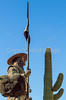 Soldado de Cuera statue, Tucson Presidio, AZ - C3-0158 - 72 ppi