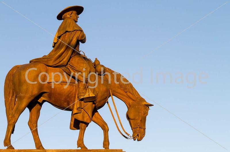 Father Kino statue in Tucson, AZ - C3-0061 - 72 ppi