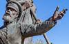 Mormon Battalion sculpture at Tucson's Presidio, AZ - C1 -0057 - 72 ppi