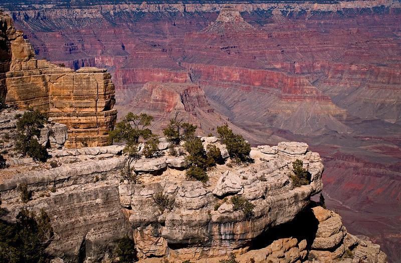AZ 010                 Rock formations at Grand Canyon National Park, AZ.