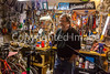 Ken Wallace, Proprietor of Bisbee Bicycle Brothel in Bisbee, Arizona - D5-C2-0097 - 72 ppi