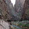 A short exploration along Bright Angel creek toward the north rim of the Canyon