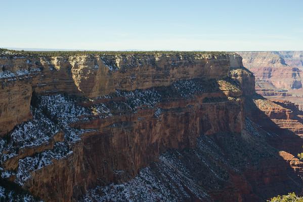 Grand Canyon rim trail.