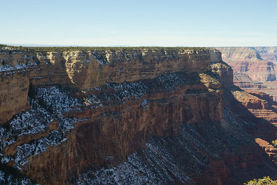 Grand Canyon rim trail.