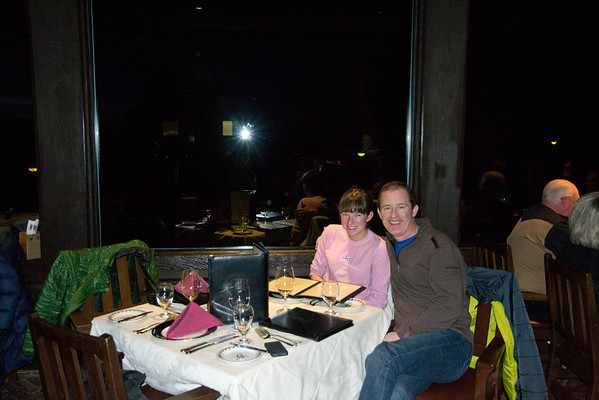 dinner at El Tovar