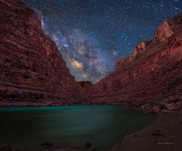 A Galactic River-Grand Canyon National Park