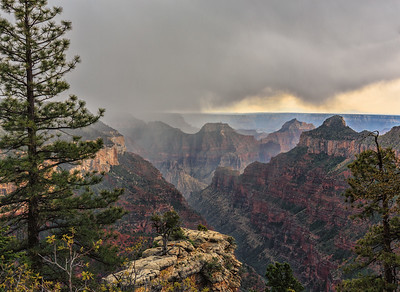 Storm Over Bright Angel Point