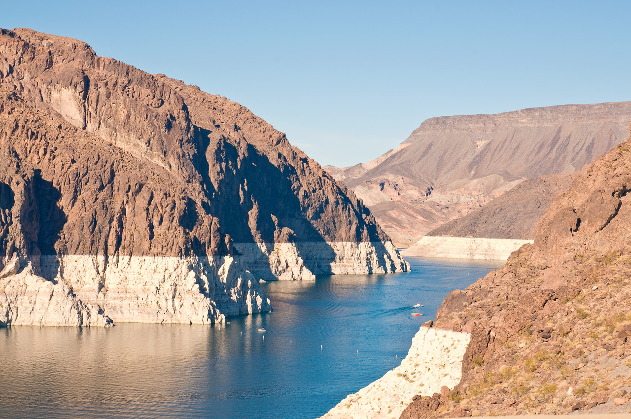 Low water in Lake Meade